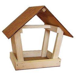 CERTECH Karmnik drewniany dla ptaków - model G