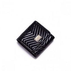 Niewielkich rozmiarów damski portfel Czarny