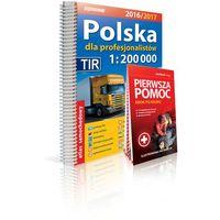 Expressmap Polska dla profesjonalistów atlas samochodowy 2016/2017 + Pierwsza pomoc 1:200 000