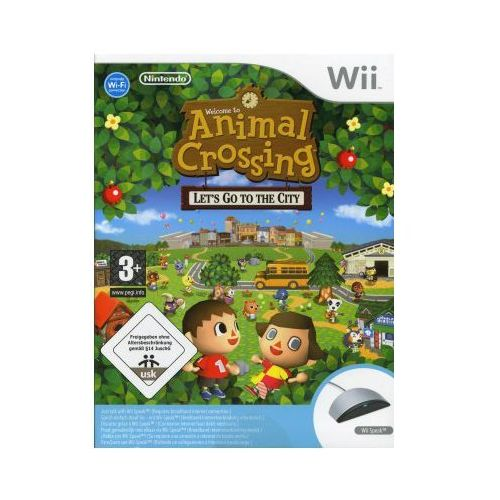 Animal crossing let 39 s go to the city wii por wnaj for Agrandissement maison animal crossing wii