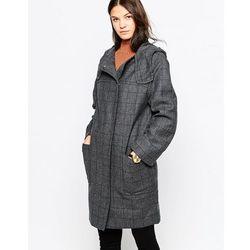 Cooper & Stollbrand Zip Duffle Coat with Hood - Grey