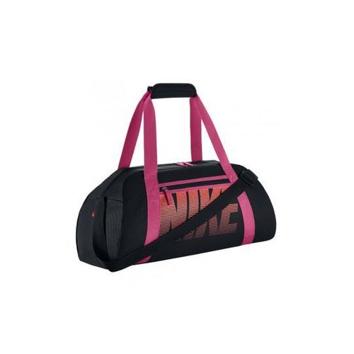 49531570293be Nike Performance GYM CLUB Torba sportowa black/vivid pink/bright mango