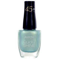 Astor Quick & Shine Nail Polish 8ml W Lakier do paznokci 201 Before Sunrise