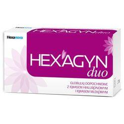 Hexagyn Duo * 10szt globulki z kwasem hialuronowym i mlekowym