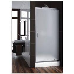 AQUAFORM drzwi Nigra 80 wnękowe, profile chrom, szkło satinato 103-091112