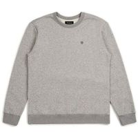 bluza BRIXTON - B-Shield Crew Heather Grey (HTGRY) rozmiar: S