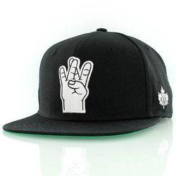 czapka z daszkiem K1X - West Side Black (0001)