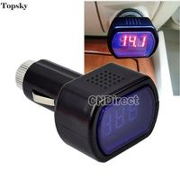 Car Tools Black Mini Digital Car Battery Tester LCD Screen Diagnostic Tool DC 12V Voltage Meter Monitor Diagnostic Tool 20