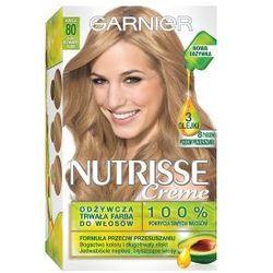 Garnier Nutrisse Creme farba do włosów 80 Jasny naturalny blond