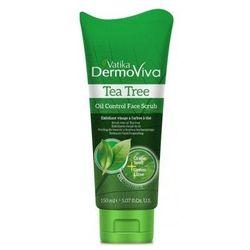 Dabur Vatika Peeling do twarzy z olejkiem z drzewa herbacianego 150 ml
