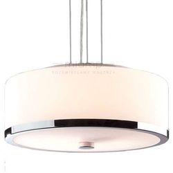 LAMPA wisząca LORIS MA01806CD-002 Italux IP20 stylowa OPRAWA okrągła ZWIS owalny biały