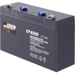 Akumulator żelowy AGM Conrad energy CE6V/12Ah, 6 V, 12 Ah