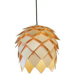 Lampa wisząca Pluma drewniana