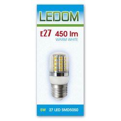 Żarówka LED E27 SMD5050 27 230V 5W biała ciepła - biała ciepła