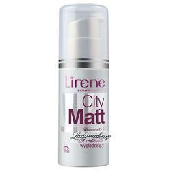 Lirene - City Matt - Fluid matująco-wygładzający-208 - TOFFEE