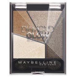 Maybelline Diamond Glow poczwórne cienie do powiek nr6 Coffee Drama