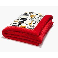 La Millou Kocyk 65 x 75 Hipster czerwony
