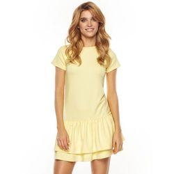 Sukienka Ally w kolorze żółtym