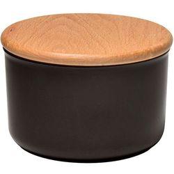 Ceramiczny pojemnik kuchenny 0,5L Emile Henry grafitowy