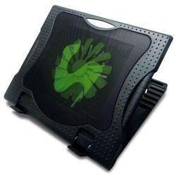 Podstawka chłodząca OMEGA do laptopa 17 cali Sub Zero (42197) Czarny