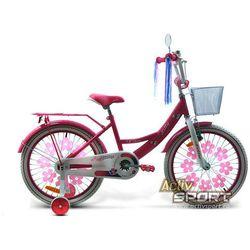 Rower dziecięcy 20 Lilly różowy - Różowy