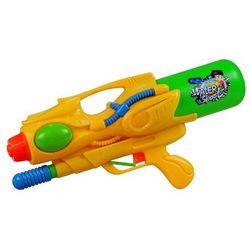 Duży pistolet na wodę z magazynkiem żółty
