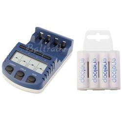 ładowarka BC-1000 (następca BC-900) + 4 x R6/AA Eneloop R6 AA 2000mAh BK-3MCCE/4T (box)