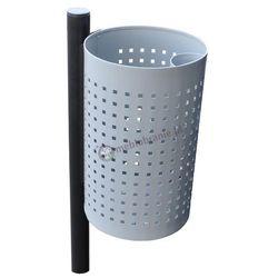 Kosz metalowy siatkowy na śmieci KB 2