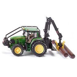 Zabawka SIKU Farmer Traktor Leśny John Deere + DARMOWY TRANSPORT!