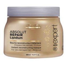 Loreal Absolut Lipidium - maska do włosów 500 ml