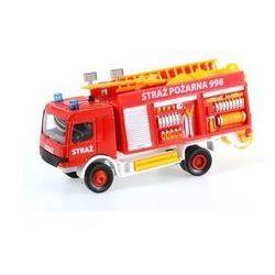 Auto metalowe Straż pożarna