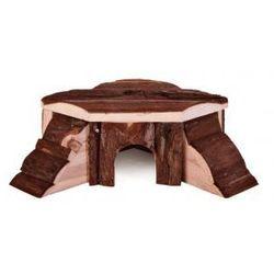Drewniany domek dla gryzoni Thordis Rozmiar:21 × 7 × 19/19 cm