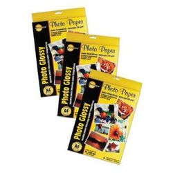 PAPIER FOTO A4 YELLOW ONE 130G SAMOP.GLOSS 4PAG130