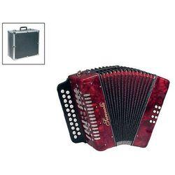 Serenelli Y-08-CF akordeon diatoniczny czerwony