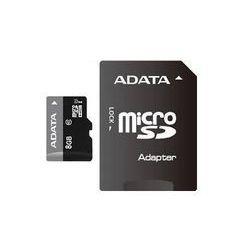 ADATA microSDHC UHS-I 8 GB Class 10, Premier-Serie, inkl. Adapter