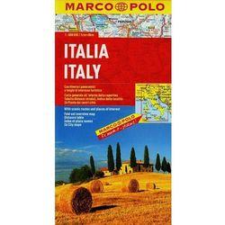 Marco Polo Mapa Włochy - skala 1:800 000 (opr. broszurowa)