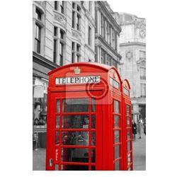 Plakat Czerwona budka telefoniczna