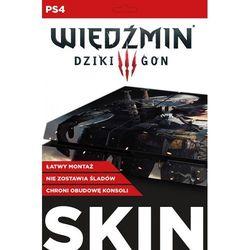 Skin na konsolę CDP.PL PlayStation 4 - Wiedźmin 3 Dziki Gon: Geralt i Ciri