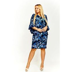 80962a8292 suknie sukienki sukienka kaskada karina wzor - porównaj zanim kupisz
