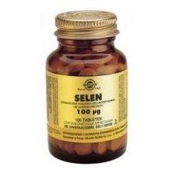 SOLGAR Selen 100 mcg, 100 tabletek