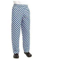 Spodnie | duża niebieska krata | rozmiary XS-XXL