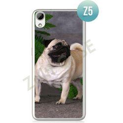 Obudowa Zolti Ultra Slim Case - HTC Desire 626 - Psy - Wzór Z5 - Z5