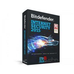 Bitdefender Internet Security 2015 PL - wersja na 5 komputerów na 3 lata, licencja elektroniczna