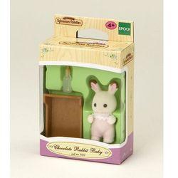 Sylvanian Families, dziecko królików z czekoladowymi uszkami, zestaw z figurką Darmowa dostawa do sklepów SMYK