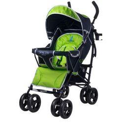 Caretero SPACER DELUXE wózek dziecięcy spacerówka zielony green