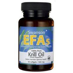 Swanson Krill Oil - Olej z kryla antarktycznego 60 kaps.