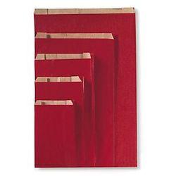 Czerwona torebka papierowa na prezent 120x190x45 mm