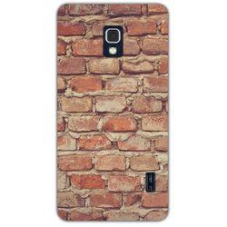 Fantastic Case - LG Swift F6 - etui na telefon - cegły