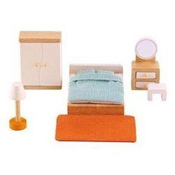 Sypialnia do domku dla lalek Hape