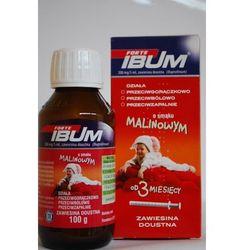 Ibum zawiesina doustna 0.1 g/5ml 130 g smak malinowy